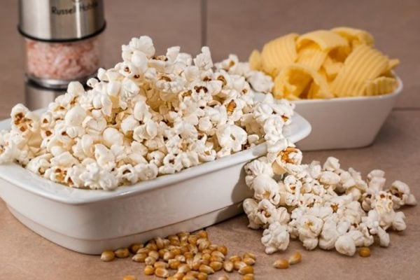popcorn chips snacks for back to school