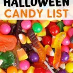 gluten-free Halloween candy list