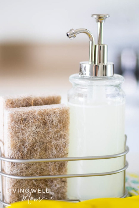 Easy Grease-Cutting Homemade Dish Soap