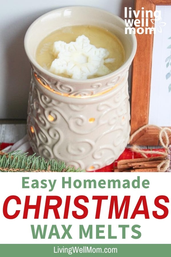 easy homemade Christmas wax melts