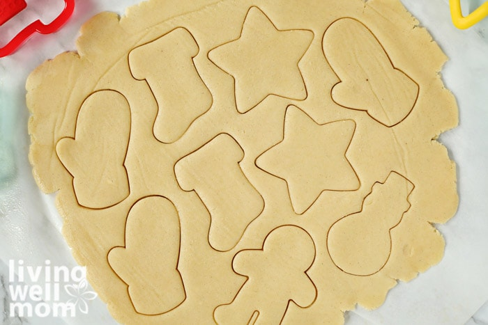 gluten-free sugar cookie dough