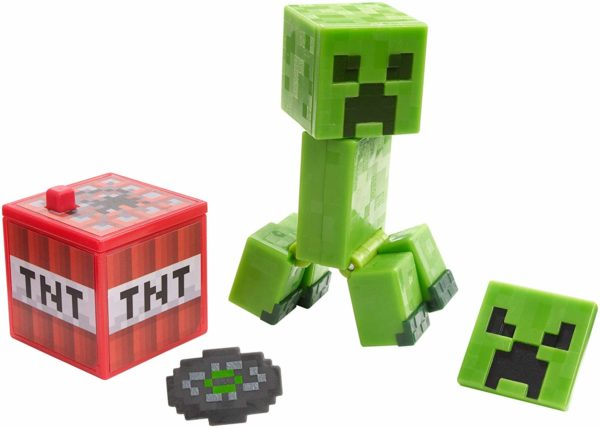 Minecraft toy Creeper and tnt gift