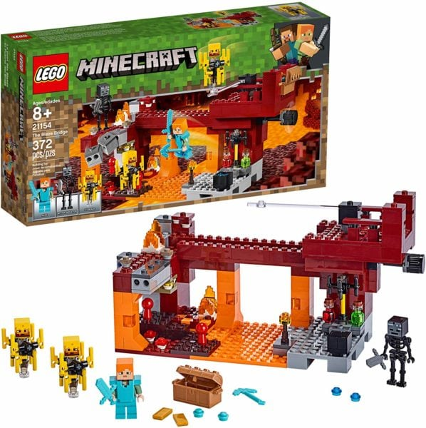 Minecraft and LEGO
