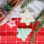 pretty festive Christmas wax melts
