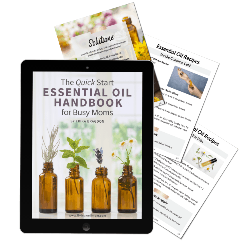 quick start essential oil handbook