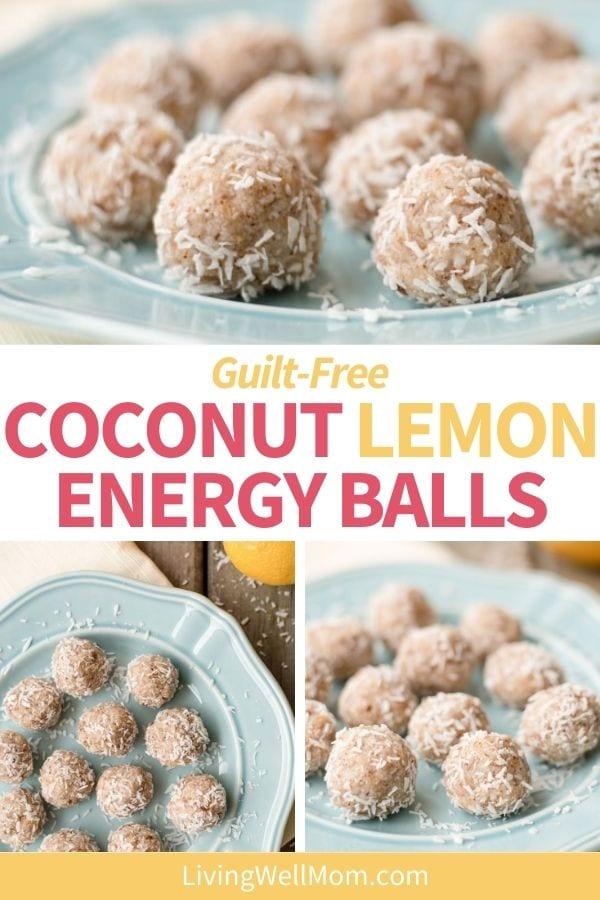 Coconut Lemon Energy Balls - Paleo Snack Recipe