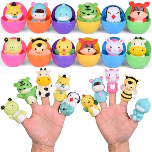 easter egg finger puppet animals
