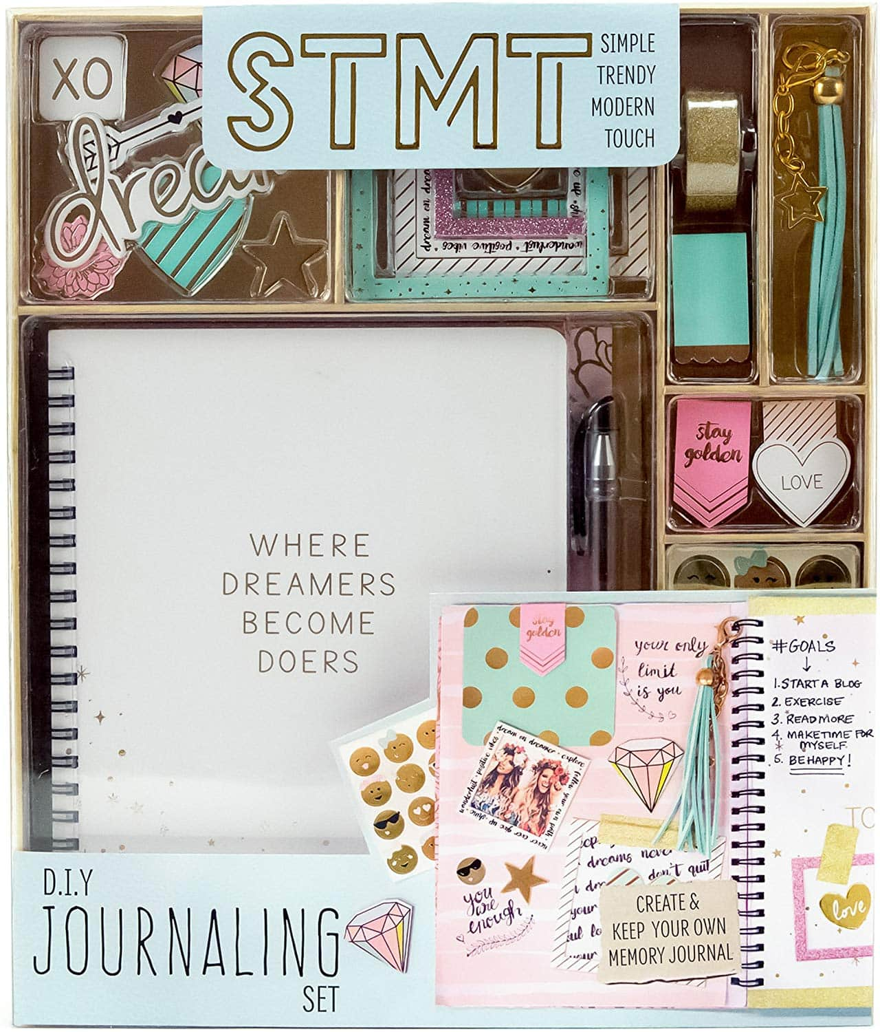 diy journal set for teens