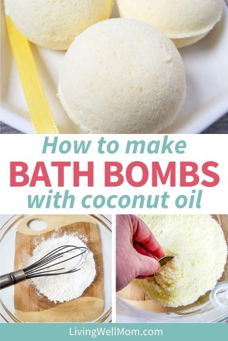 coconut bath bombs