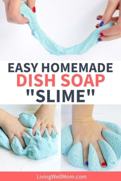 collection of easy homemade dish soap slime photos