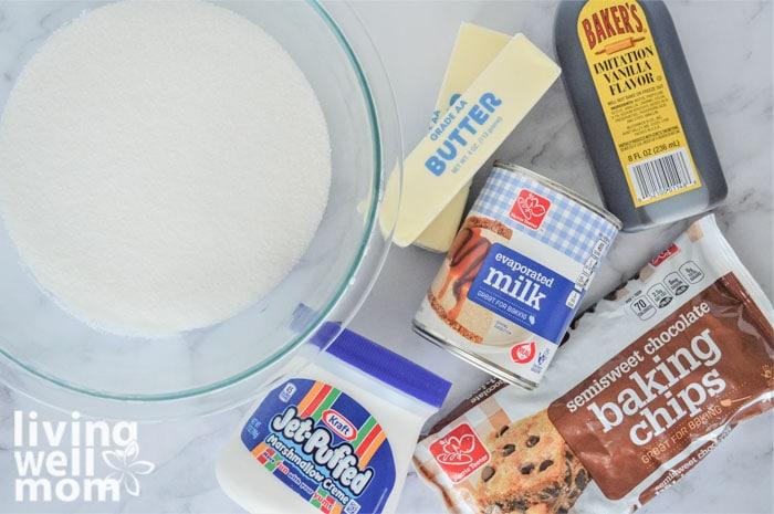 ingredients for fantasy fudge