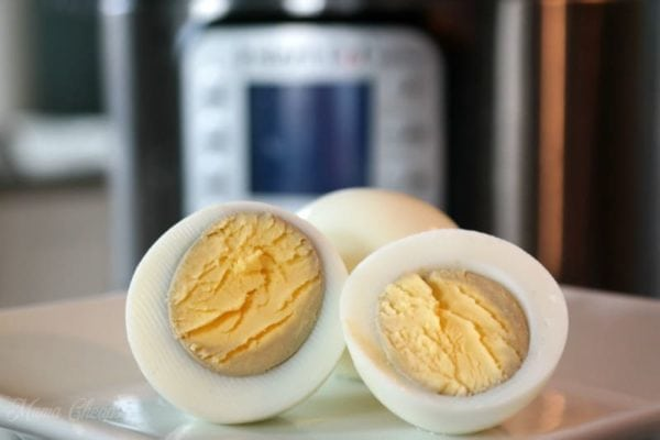 hard boiled eggs cooked in instant pot