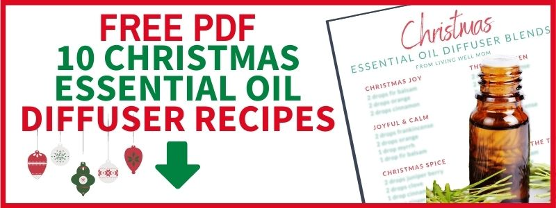 christmas essential oil diffuser recipe pdf free email signup