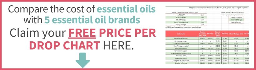 essential oil price per drop chart sign up
