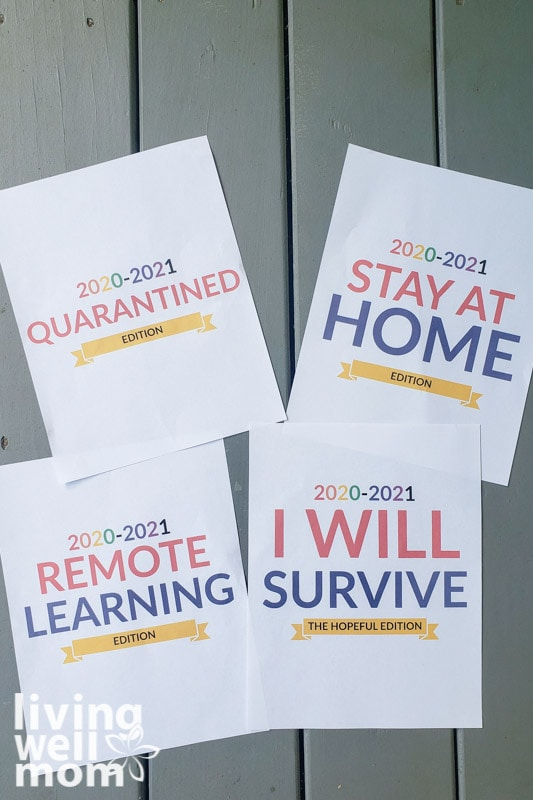 funny back to school printable signs