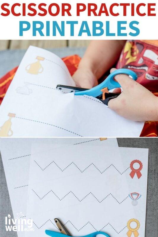 free printable scissor worksheets