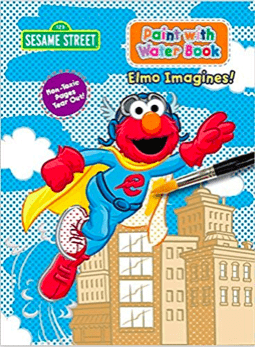Coloring book with elmo