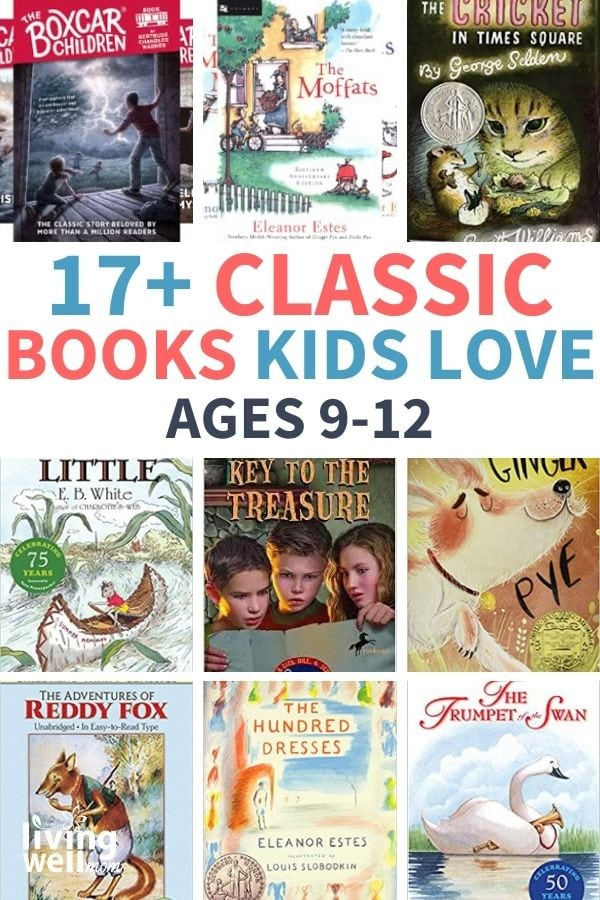 collection of classic books for kids ages 9-12