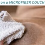 cleaning stains from a brown microfiber couch