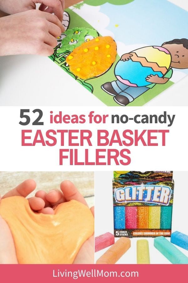 ideas for no candy easter basket fillers