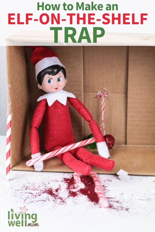 DIY Elf on the shelf trap
