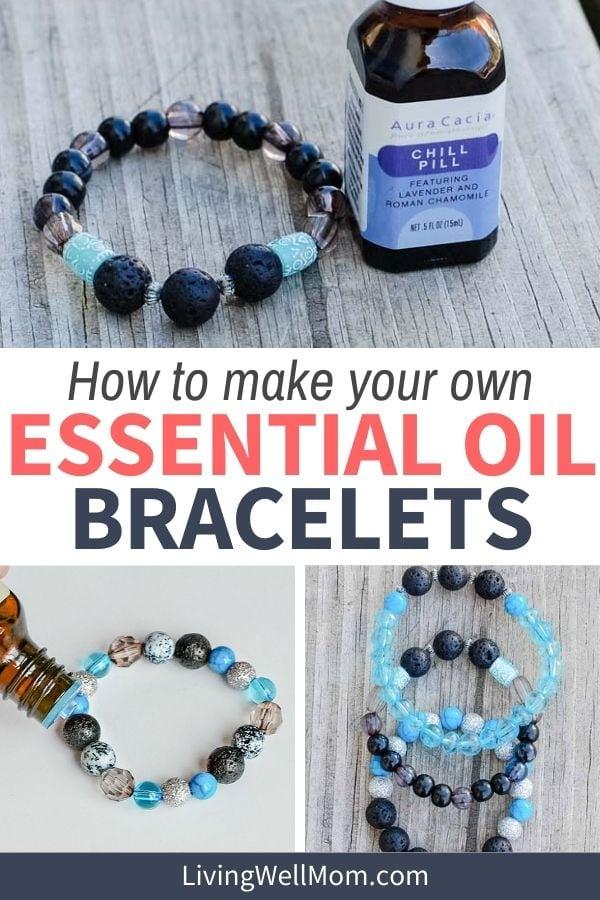 how to make essential oil bracelets
