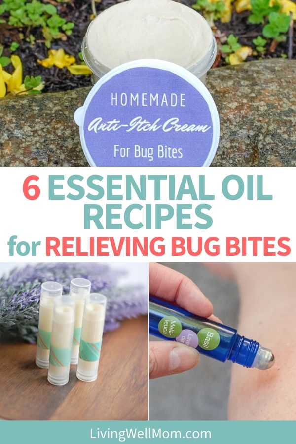 essential oil recipes for relieving bug bites