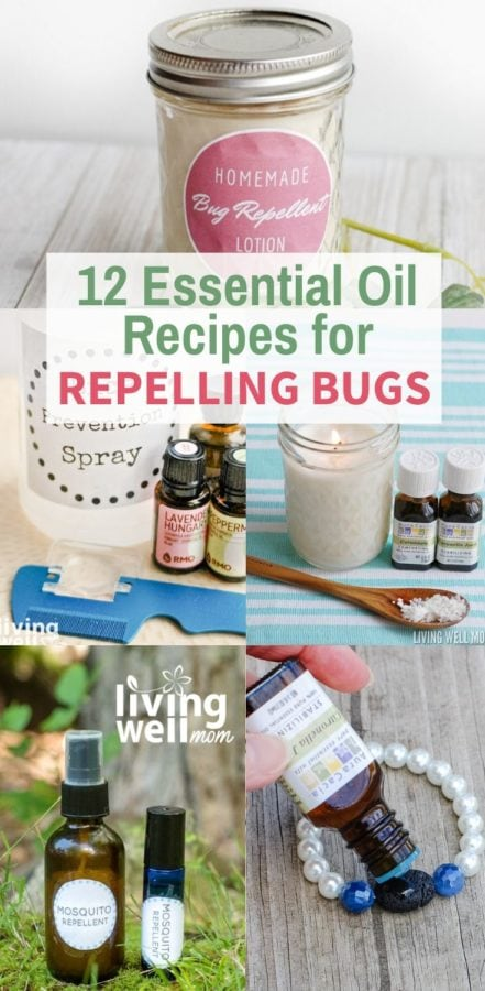 essential oil recipes for repelling bugs