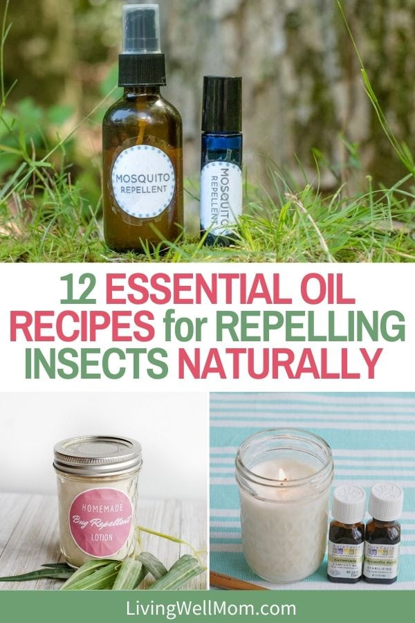 essential oil recipes for repelling insects