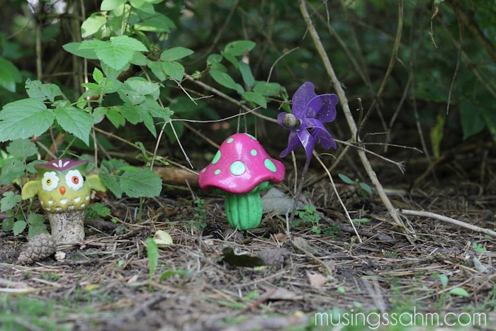 Outdoor activities for kids: make a fairy garden