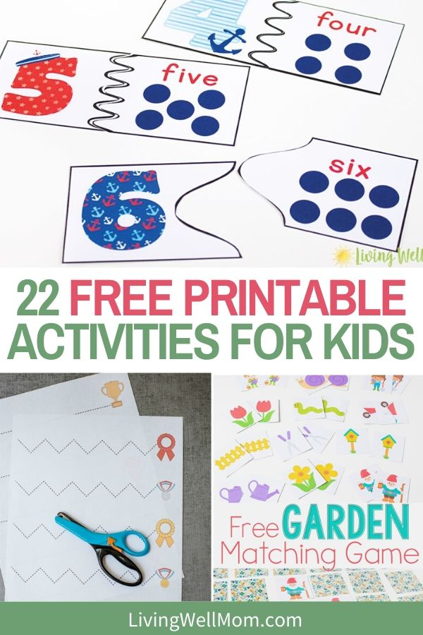 free printable kids activities