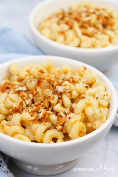 macaroni and cheese baked in instant pot