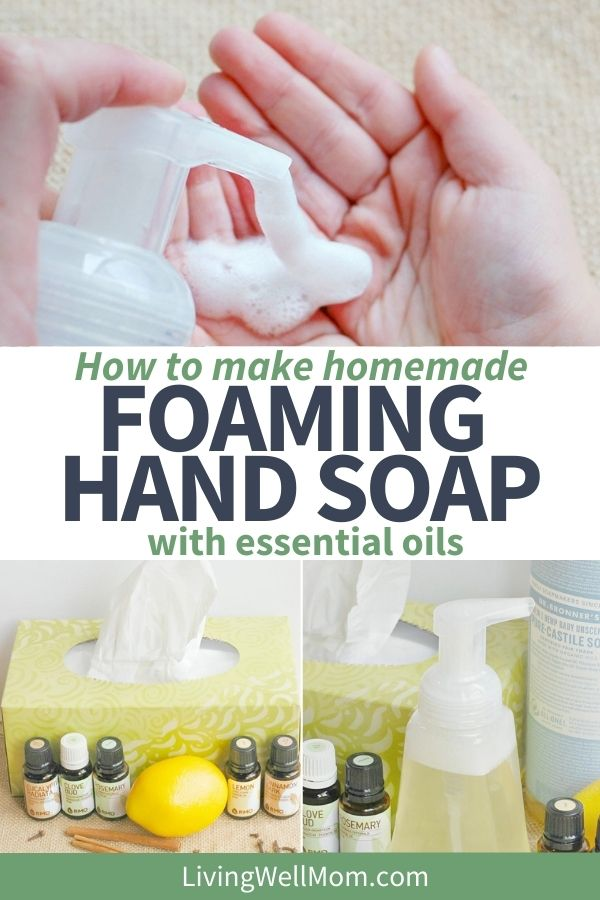 foaming hand soap recipe