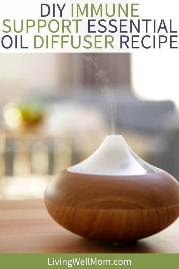 diffuser with immune boosting essential oils