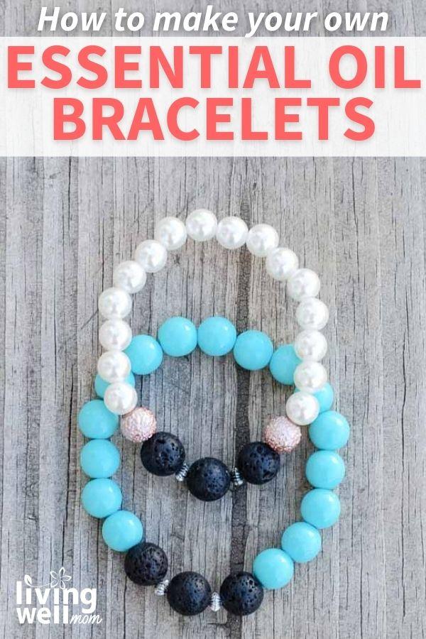 diy essential oil diffusing bracelets