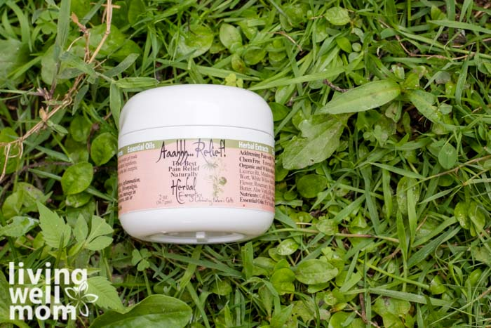 Ahh relief gel - natural remedies for growing pains