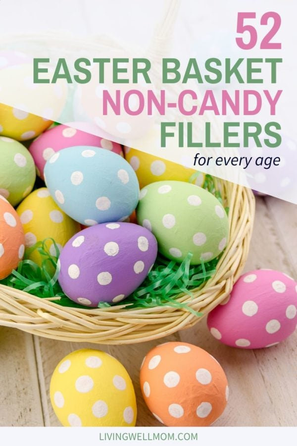 easter basket non candy fillers