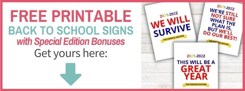 optin form for free printable first day of school signs 2021