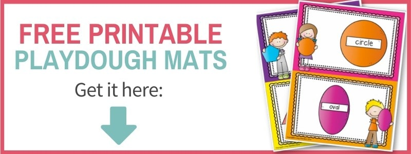sign up form printable playdough mats