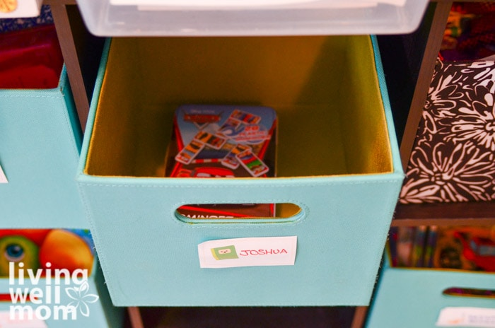 personalized cubbies for kids craft supplies