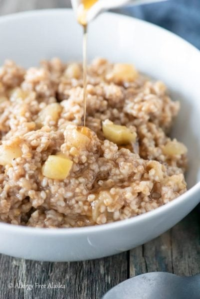 steel cut oats cooked in instant pot