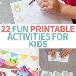 printable kids activities