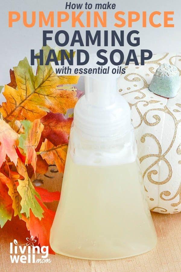 Foaming hand soap scented like pumpkin spice