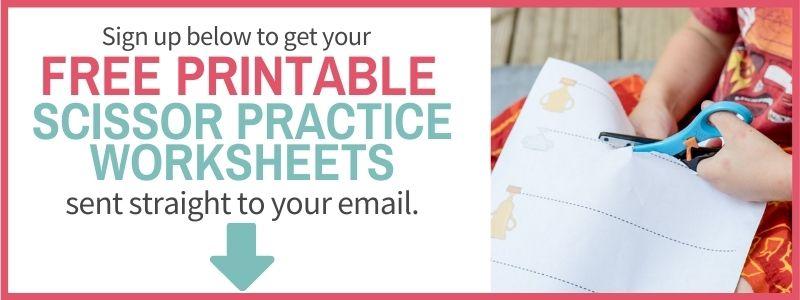 sign up for scissors practice worksheets