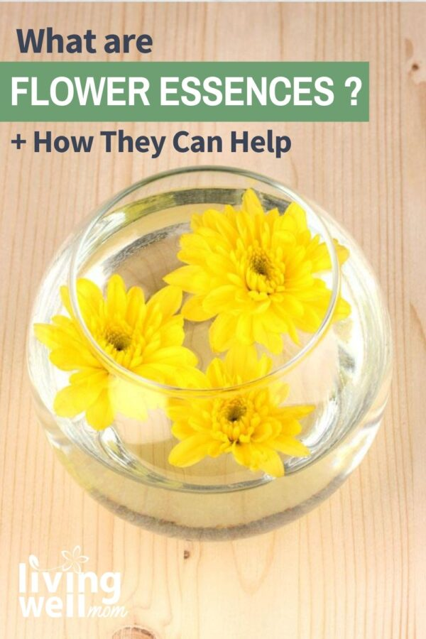 yellow flowers in glass bowl of water making flower essences