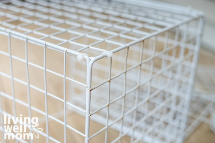 wire crate for shoes